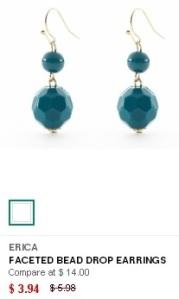 Steinmart earrings