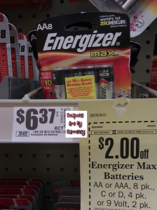 HEB energizer 8 pack