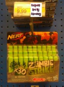 Nerf Zombie strike ammo