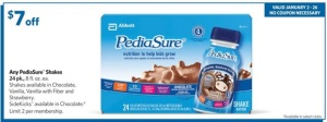 Sams Pediasure
