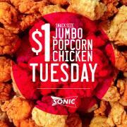 Sonic popcorn chicken