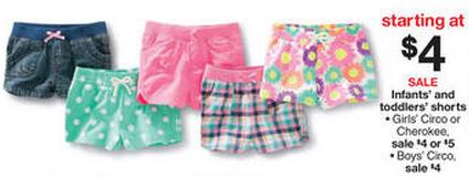 f6eed81dad44c Target – Circo Toddler Girls Tees, Leggings, and Shorts just $3.40 ...