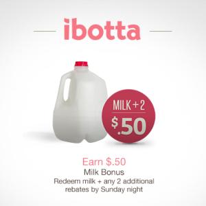 ibotta milk offer