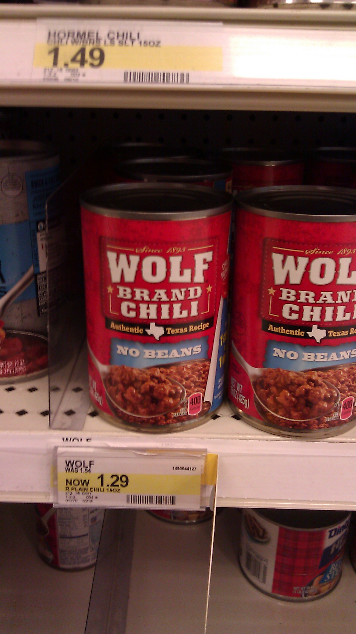 photo regarding Chili Printable Coupons identify Wolf brand name chili discount codes : Printable coupon for frozen meat