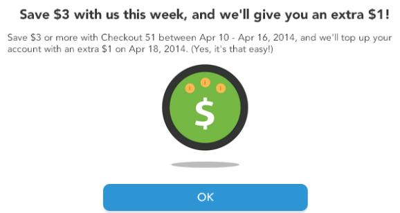 checkout51 bonus