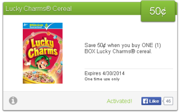 lucky charms savingstar
