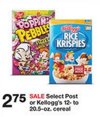 Rice Crispies target