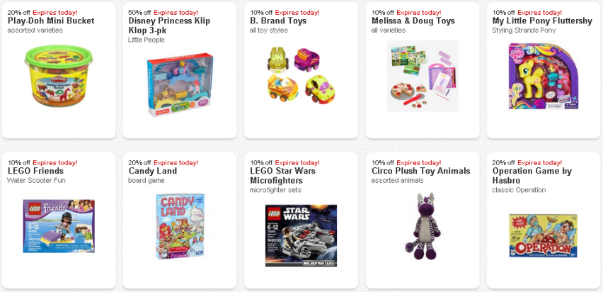 Toy Cartwheel Expiring