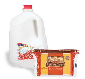 heb dairy
